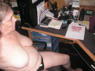 Love the sexy tits and beautiful black panties, login fuckin good.