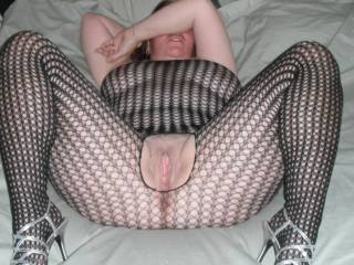 Wow I love how delicious your wife looks exposing her sexy breasts and spreading her legs showing off that gorgeous pussy. Love it and would love to be all over her sucking and fondling her hot body, breasts, and wet pussy. Ms.M