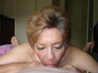 I wish she was deep throating my cock while playing with my balls....she is so sexy and gets me hard every time I look at her....I am sending you a tribute