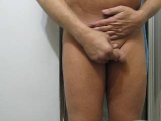 great to see a your cock not too big like mine but my ex Gf found my cock too small for her