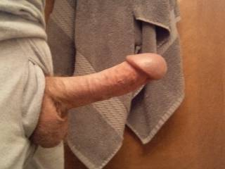 wish your cock was in my mouth while i gently massage a warm creamy load from your big full balls