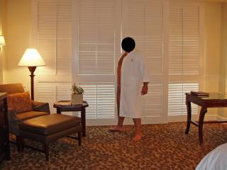 Weekend getaway at a luxury resort. Hubby patiently posing for some nude pics before I gave him a blowjob...and some pussy!
