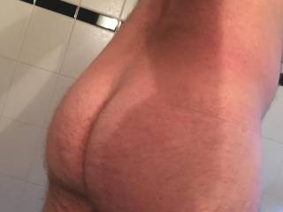 Is this hairy ass still in shape?