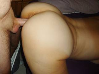 In the Wife\'s Warm Wet Tight Pussy.....Wanna Join????