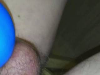 This vid is from a recent intense edging session with the Mood Exciter stimulating my tied off balls. It resulted in a long hard orgasm and alot of cum produced.