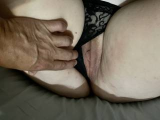 close up of her tight wet pussy