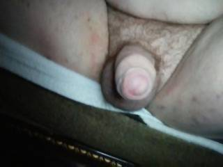 Was sitting outside and some people walked by I was wondering what they was starting at but I didn\'t care it was heat poundingly amazing I love when people see my cock