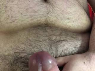 It takes a lot of control, but sometimes I can cum twice right in a row.