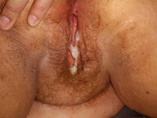 eat my cum from her pussy and suck her juices off of my dick