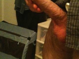 getting erect
