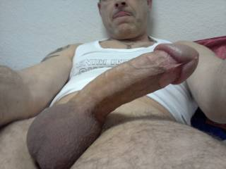 Wow, nice big cut cock ready for action Mrs Oz