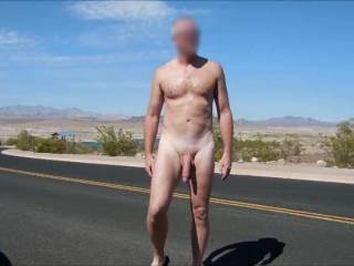 I love being naked outdoors and in public