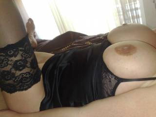 I love big tits in sexy lingerie