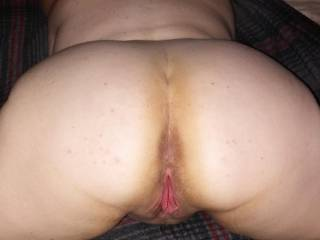 My friend J waiting to get that nice pink pussy fucked