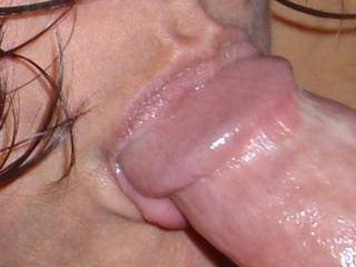 Milking hubby\'s cock for his cum with my mouth!  Any of you big dick fellas want the same treatment?