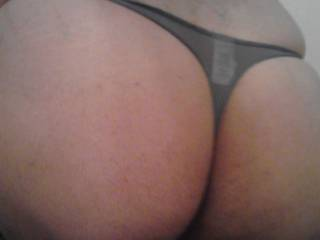 How Does my ass look in this thong does it make you horney