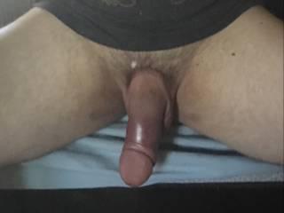 Make my huge soft cock rock hard.