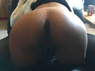 Sexy ass bent over