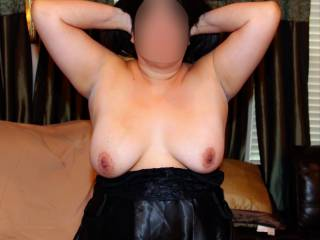 Oops…my tits popped out of my lingerie!