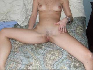Wife spread for me.