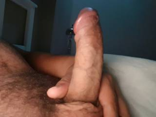 Waiting for my lady to suck him dry.. then grind him.. wanna join?