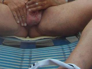 got a HARD~ON so I stroked my cock