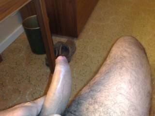 That big fat cock would feel so good in my wet cunt and taste so good cumming in my mouth