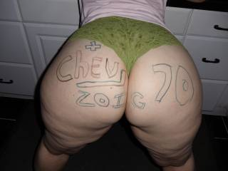 i got an instant hardon looking @ this sweet ass.  would luv 2 c her naked.