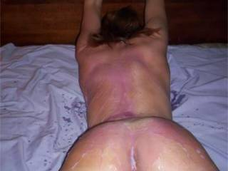We would love to see you get ass fucked. I would also like to see my BF fuck it as well ! x