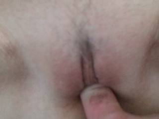 Picture doesn't do her justice. Can you see how tight she is? See my white knuckle? Tightest pussy I ever had.