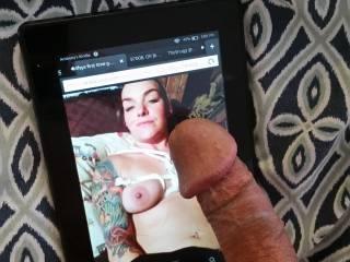 Tattoos and cum