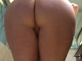 Nice! That sweet ass looks perfect for licking and sticking