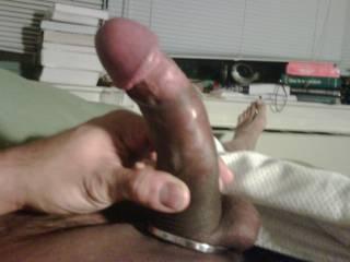 mhhhhhh, nice cock - love the ring too !!