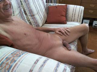 Soft cock waiting to get hard !