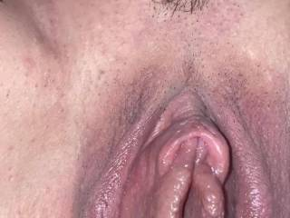 Fucking my wife after she pumped her pussy…