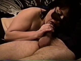 sucking and stroking hubbys cock jus before he cum in my mouth,do I suck cock well or not hmmmmm?