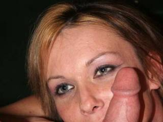 Hey Darlin, If you make him cum in you mouth, lets switich and we will share  his cum.  Looing good darlin