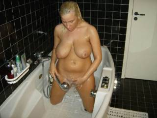 damn you found the hot spot ,,my girl friend spends hours in the bath