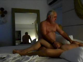 A week we spent in Cancun, Sex is the number one motive in this resort. I forgot how many , but she had at least 3 different guys each day and more in the play room (designed only for super orgies) Great! But no cans where real sex is taking place,
