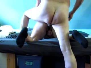 She loves it from behind up on her knees as you can see