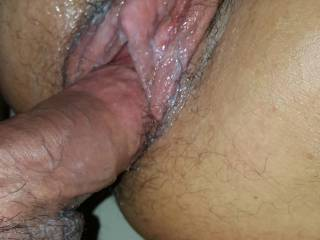 Safe to say she was enjoying herself with her cum everywhere