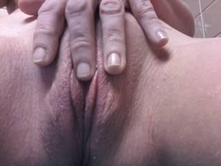 wife masturbating at work