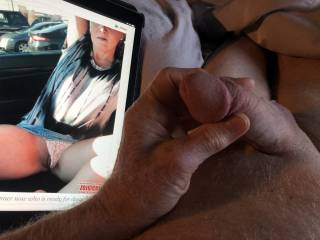 What a sexy image to masturbate with, Bella69 has made me very horny.