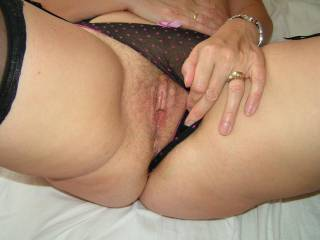 lick those lips and suck hard on your gorgeous clit  and btw like your panties mm