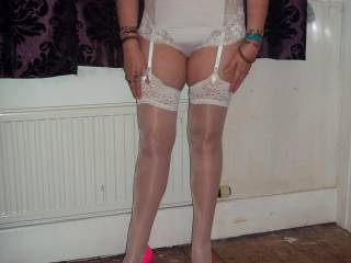 you absolutly drive me crazy that body in that lingerie have to see more of you thanks