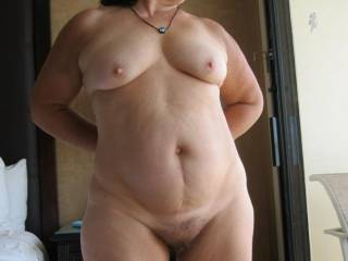 Just came in from the hotel\'s deck where I was nude sunbathing