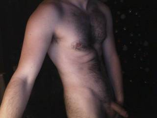 you are so hot!!!!  I love a man with body hair....and you, my friend, are very SEXY!!!!