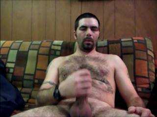 This free member thanks you ! Love seeing a hot man working his cock and busting a nut!