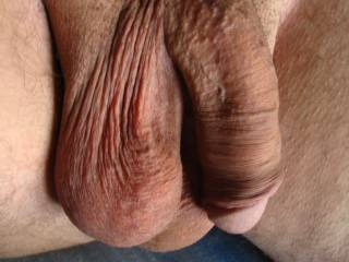 i love this pic of your big soft nice cock and balls. beautiful