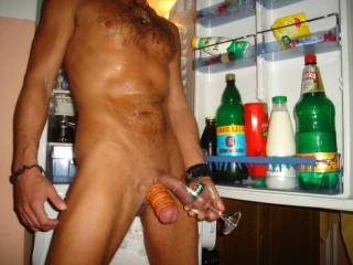 Mmmmmm, so sexy, fill It up with your cum and I'll swallow it all, then I'll suck your cock.  Nice ball stretcher.  I love this picture.  MILF K